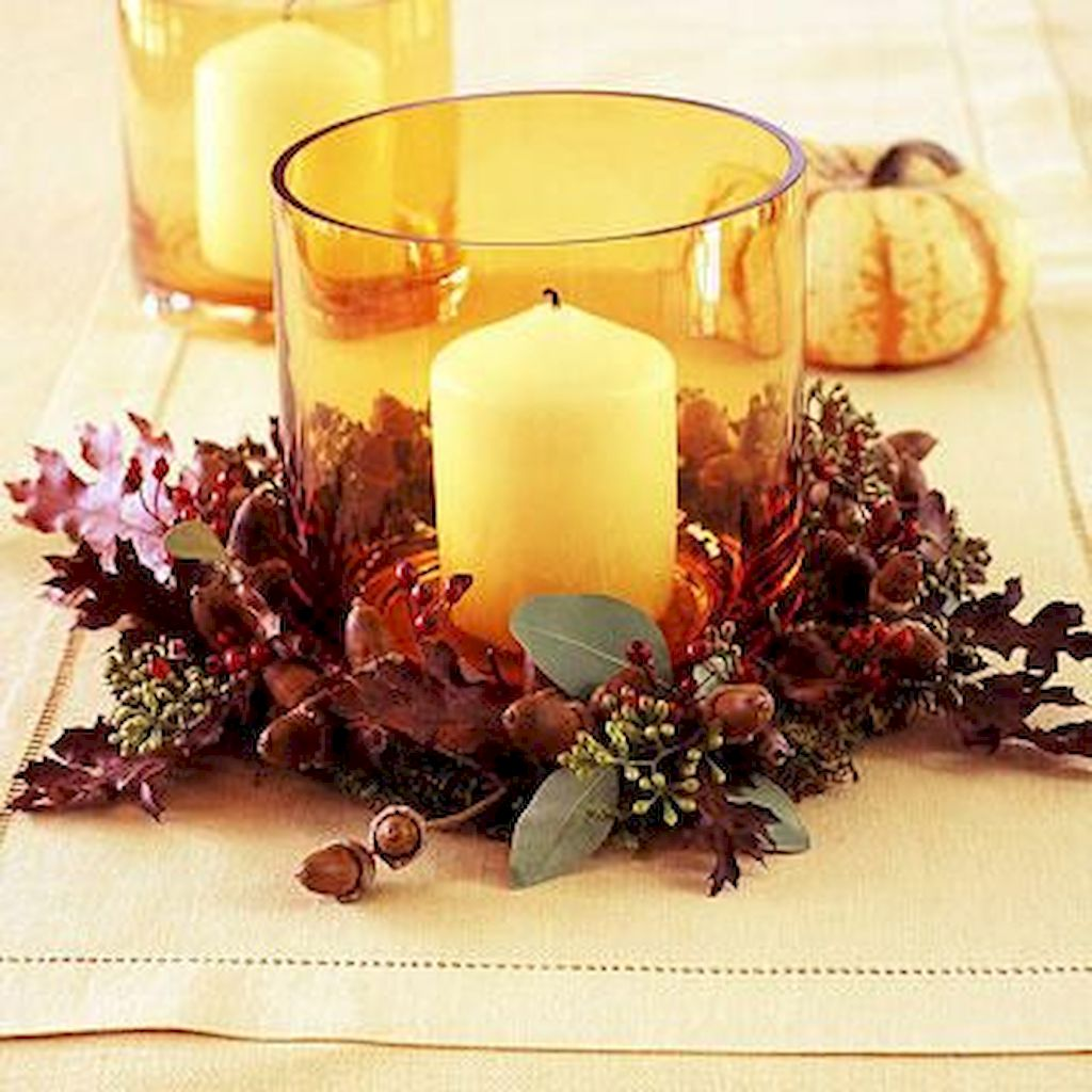 Unbelievable Thanksgiving Candle Displays Ideas And Placements