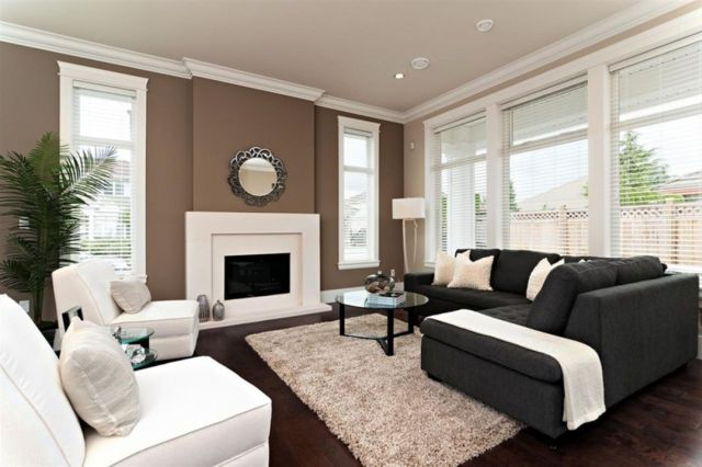 Wall Paint Color Combination Ideas in the Living Room 5