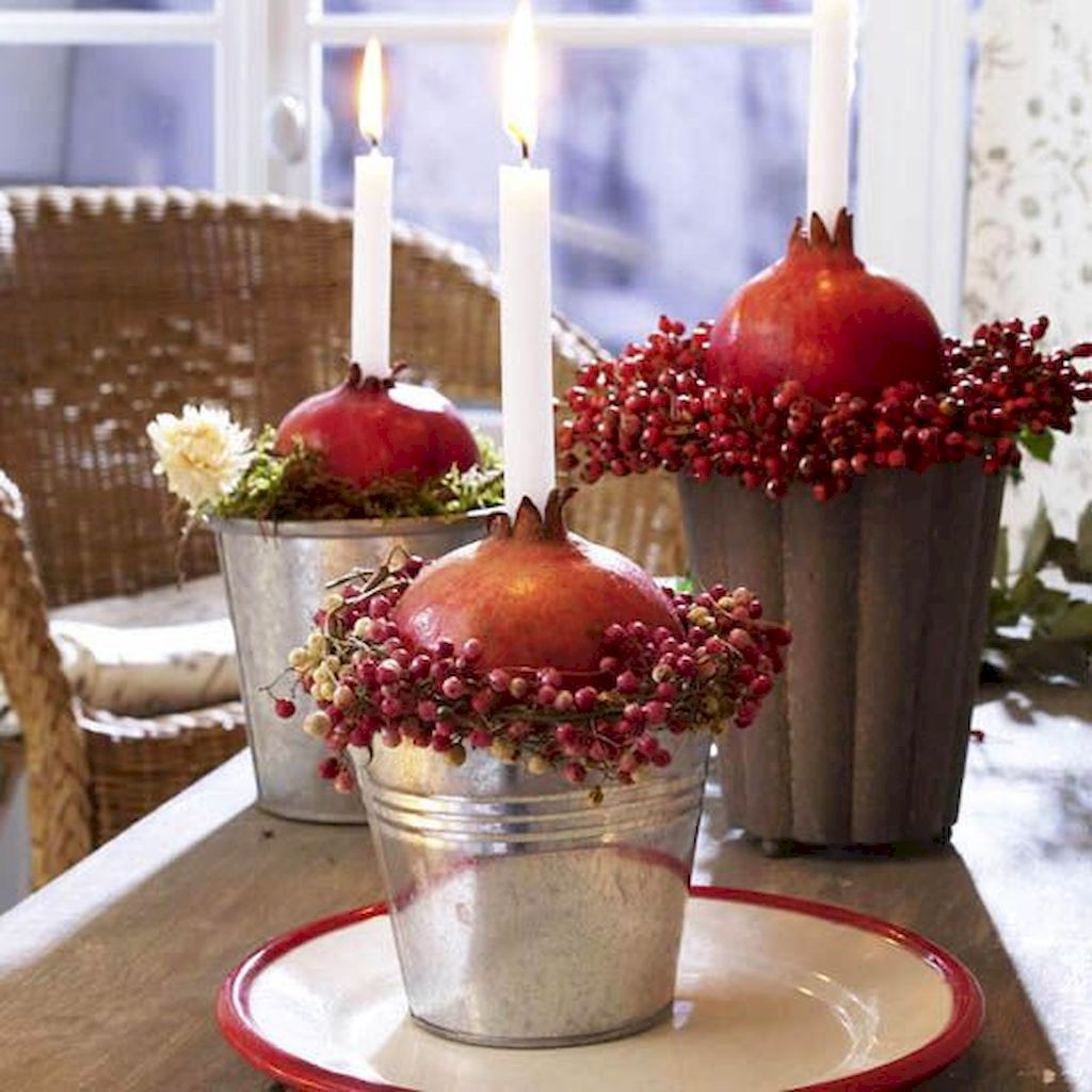Wonderful Thanksgiving Candle Displays Ideas And Placements