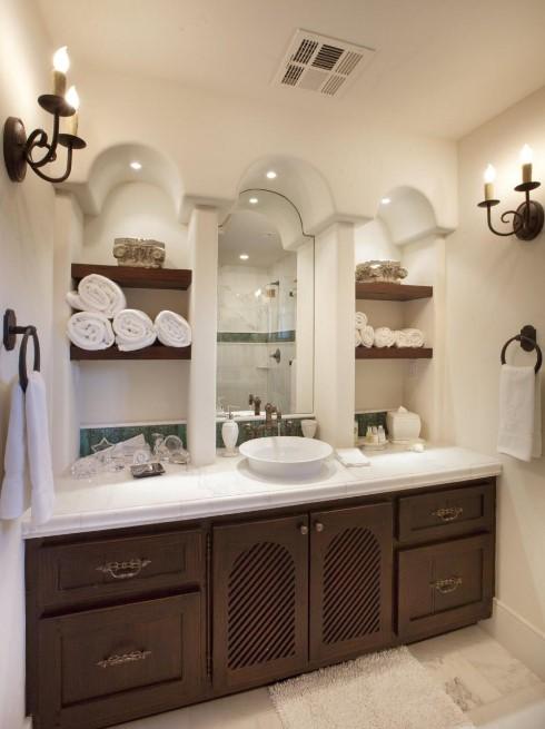 awful 20 clever bathroom storage ideas #bathroomstorageideas #bathroomideas #bathroom #halfbathroom