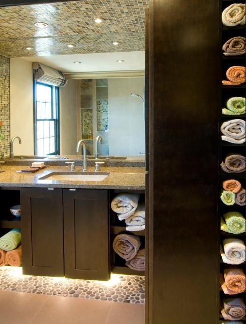 alarming 26 great bathroom storage ideas #bathroomstorageideas #bathroomideas #bathroom #halfbathroom