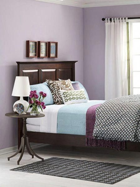 Bedroom Ideas Purple And White