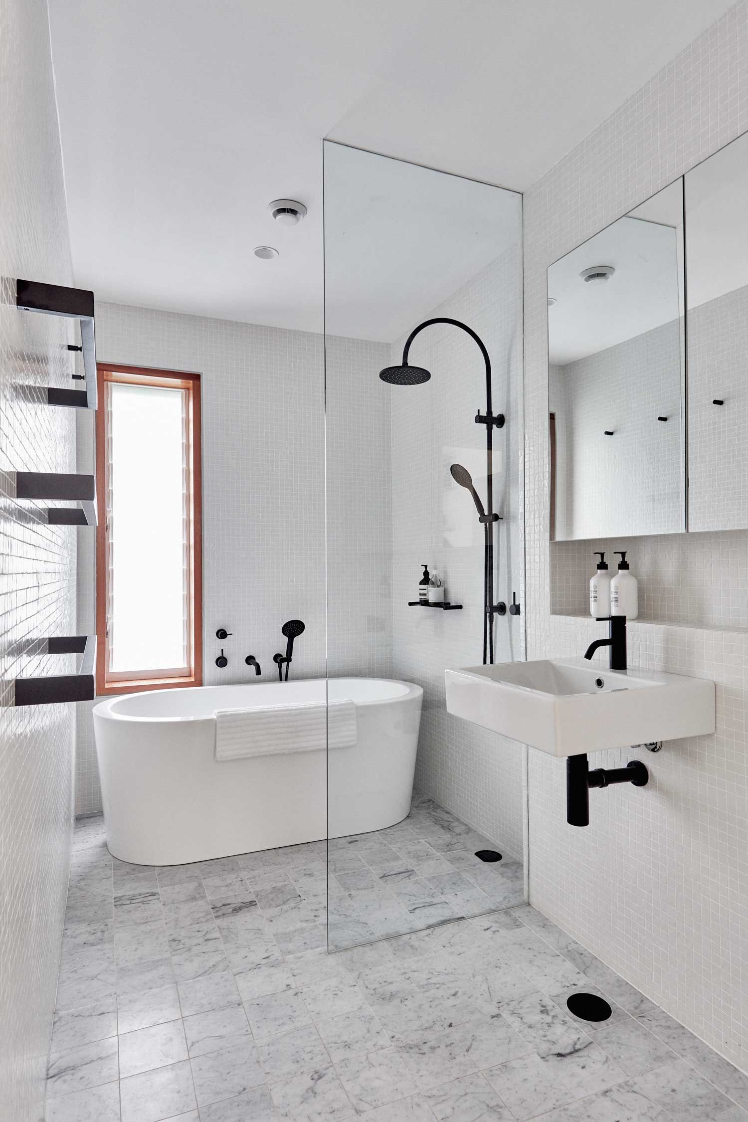 Guest Bathroom Mirror Ideas