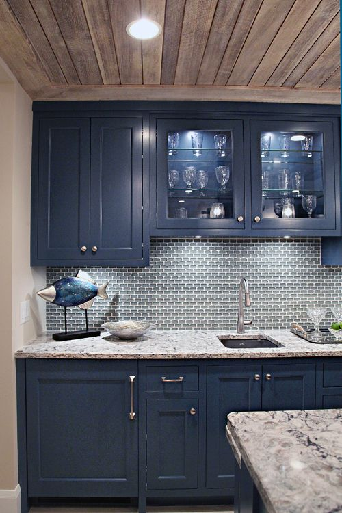 Blue Kitchen Cabinet Handles