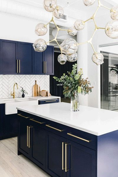 Blue Kitchen Countertops Ideas