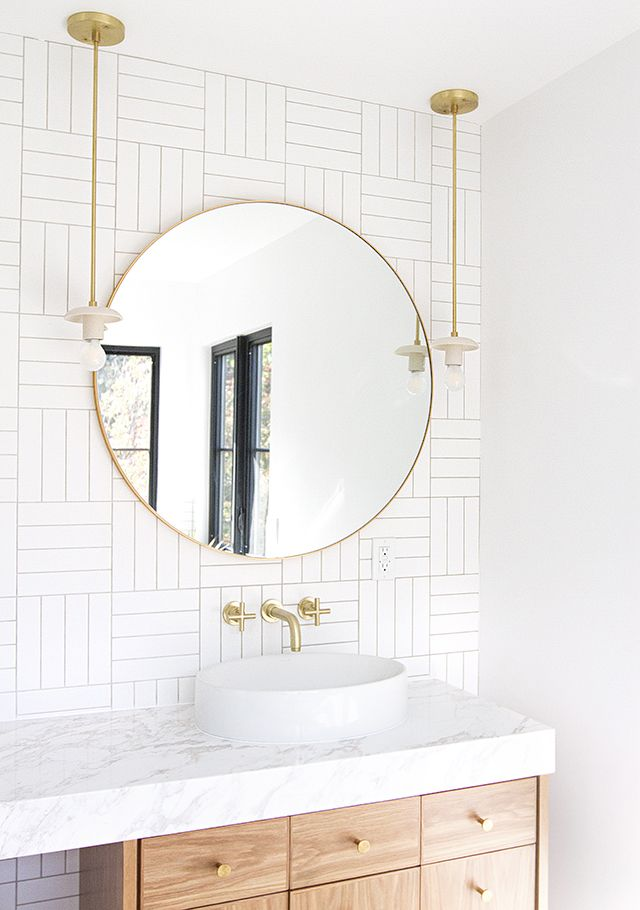 Master Bathroom Vanity Mirror Ideas