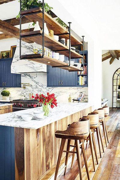 Rustic Kitchen Sink Cabinet