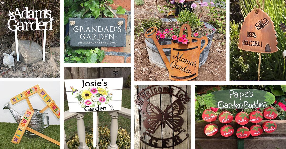 Garden Sign Ideas Designs Featured Homebnc.jpg