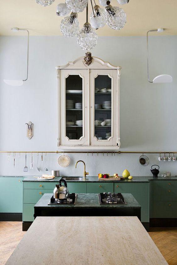 Green Kitchen Ideas That Make Comfy