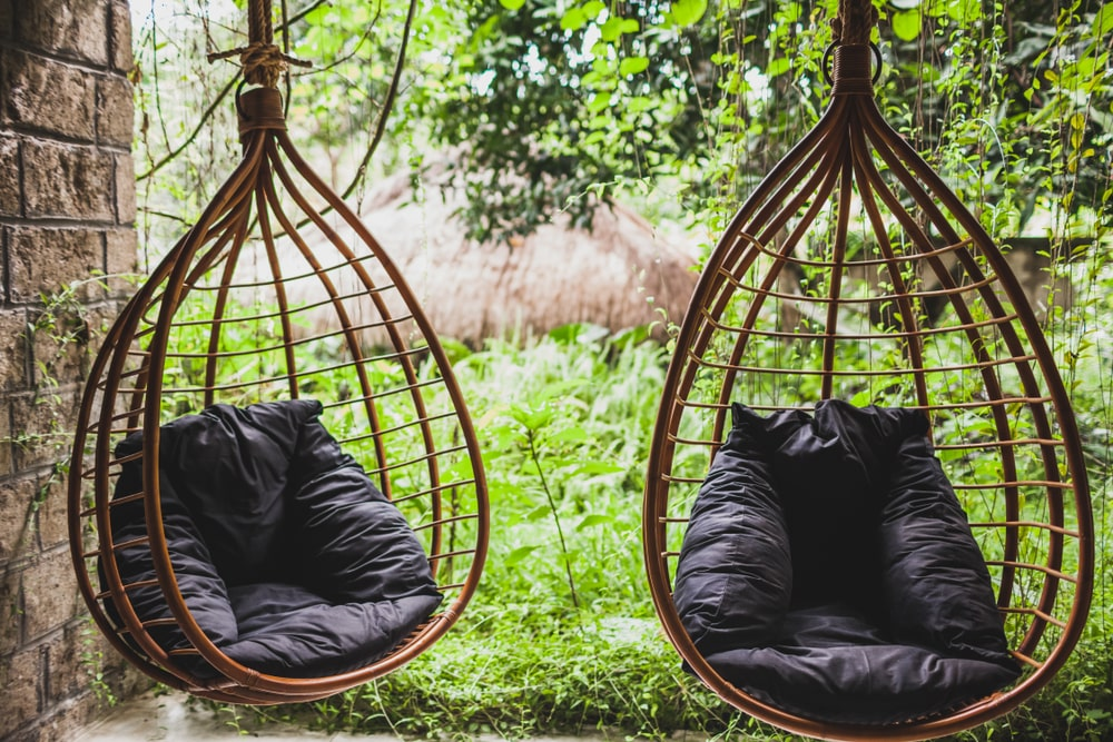 A Pair of Patio Chair Swings