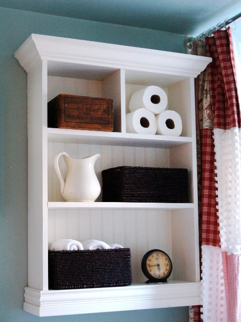 Gorgeous 3 drawer bathroom storage #bathroomstorageideas #bathroomideas #bathroom #halfbathroom